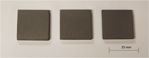 The IN625 substrates used in the study by the two different LPBF systems