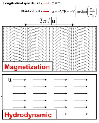 magnetization and hydrodynamic