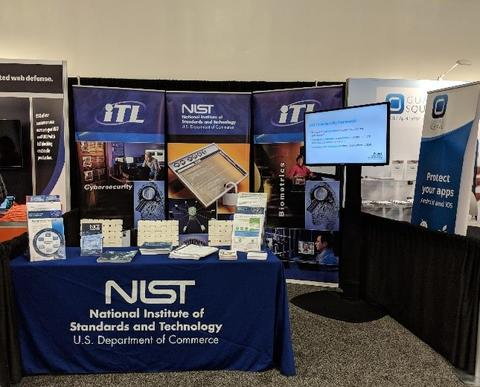 NIST Booth - RSAC 2018