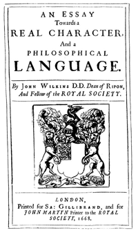 John Wilkins Book