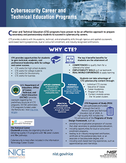 NICE CTE One Pager Photo