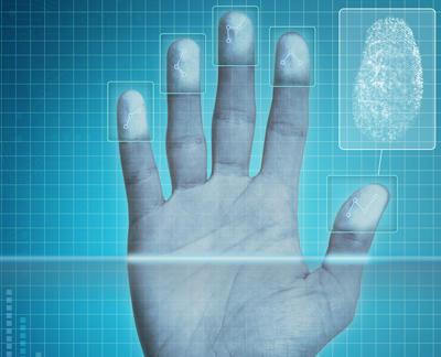 hand showing fingerprints