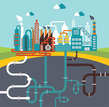 Factories graphic