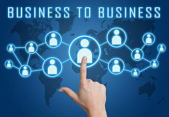 business to business graphic