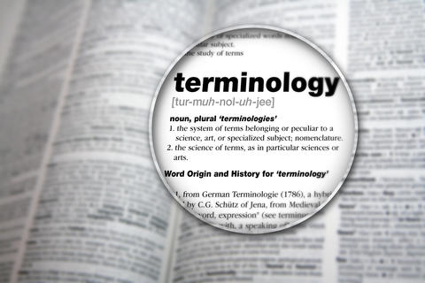 Terminology Definition