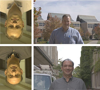 Images used to evaluate facial recognition technology