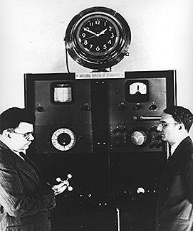 NIST's first atomic beam clock