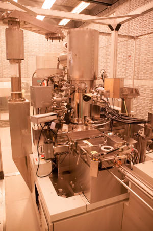 Photograph of the JEOL JBX 6300-FS Direct Write Electron Beam Lithography System.