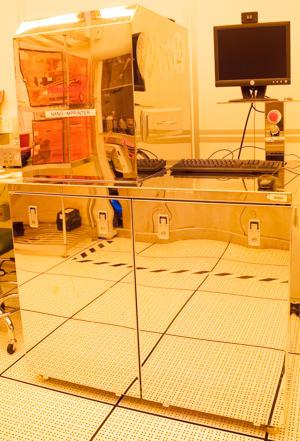 Photograph of the Nanonex NX-2000 Nano-Imprint Lithography System.
