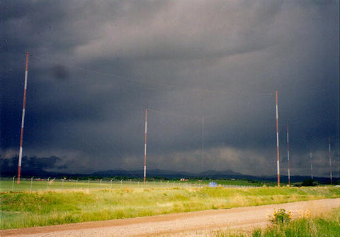 Image of WWVB radio antennas