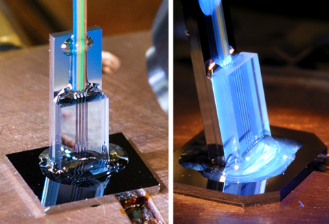 Photonic thermometer packages