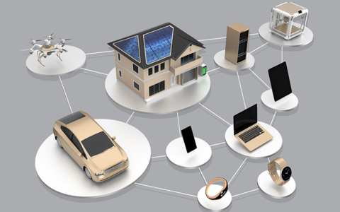 Concept of internet of things ecosystem