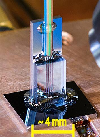 photonic thermometer