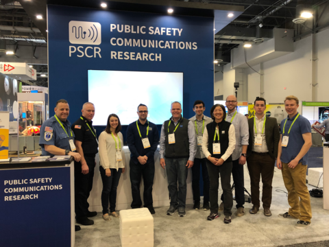 PSCR Staff at CES 2019