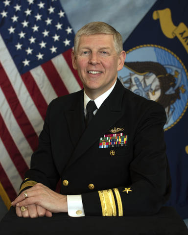 Bio Picture for RADM Lorin Selby; a keynote speaker to the MBE Summit 2019.
