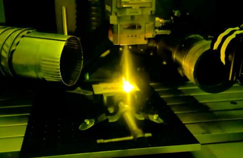 laser welding booth