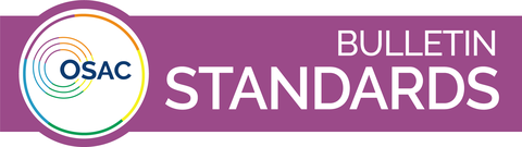 OSAC Standards Bulletin Banner Bar