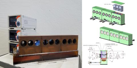 9 position peltier-driven heating-cooling sample changer for SANS