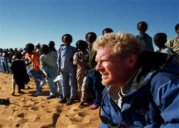 photo of a man in Africa