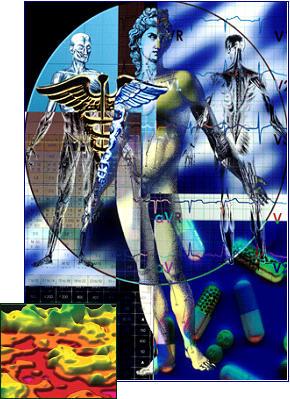 Illustration: Nanotechnology And Human Disease States