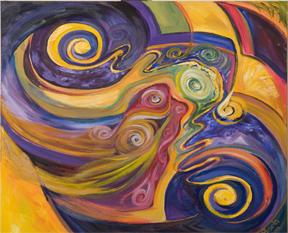 Artwork titled Entangled Atoms by Boris Blinov