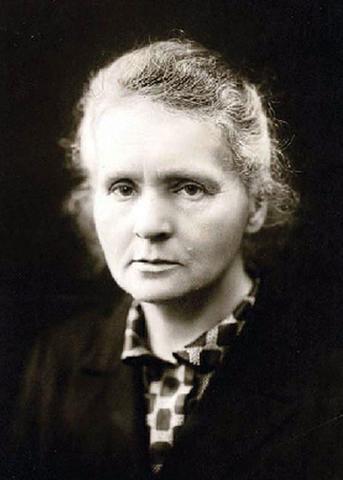 Marie Curie Portrait Image