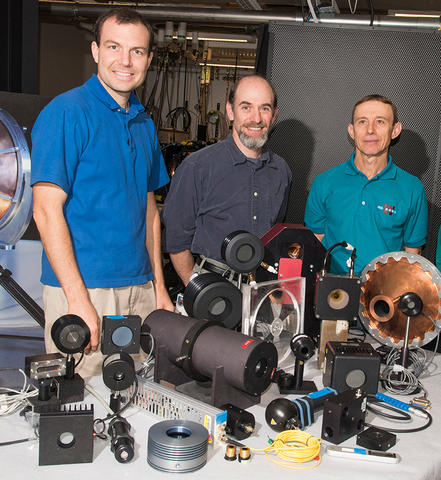Laser Power and Energy Meter Calibration team members