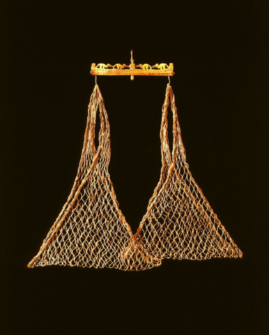 a balance made of rope
