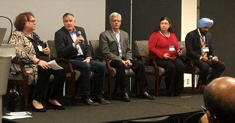 The NIST DC CyberWeek Cyber Leader Panel featured various cybersecurity experts from private industry and the public sector