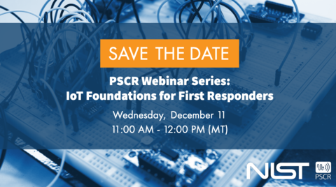 Image shows the specifics of the webinar - December 11 from 11:00 AM to 12:00 pm