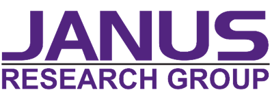 In purple text: JANUS Research Group