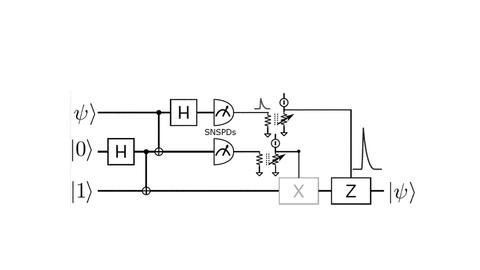 Line drawing of the thermal impedance amplifier