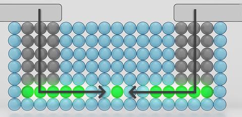 Jednoatomový tranzistor