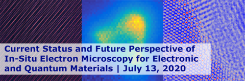 Current Status and Future Perspective of in-Situ Electron Microscopy Banner