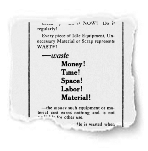 Advertisement in the Electronic Railway Journal, 1918, page 413