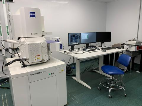 Zeiss Gemini 500 Field Emission Scanning Electron Microscope