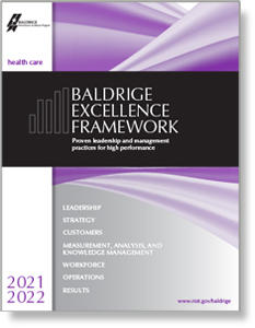 2021-2022 Baldrige Excellence Framework Health Care feature image