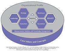 2015–2016 Baldrige Criteria Overview (Health Care) Artwork