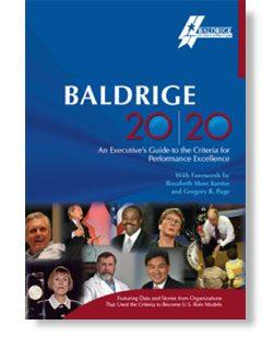 Baldrige 20/20 Cover Page