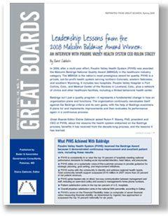 Leadership Lessons Cover Page