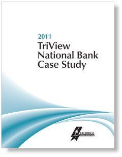 2011 TriView National Bank Case Study Cover Page