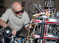 NIST researcher Jabez McClelland