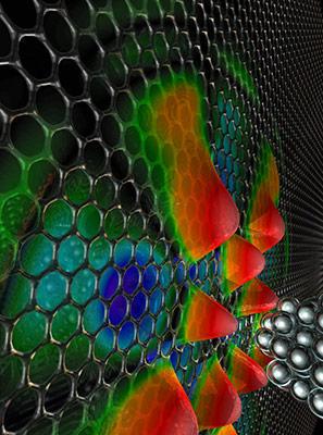 graphene whispering gallery