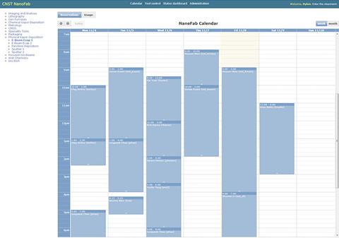 NEMO Calendar Screen Capture