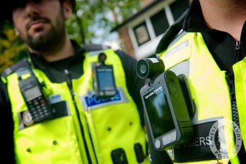Wearable sensor west midland police