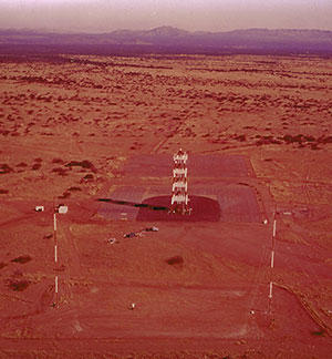 U.S. Army antenna test range (1966)
