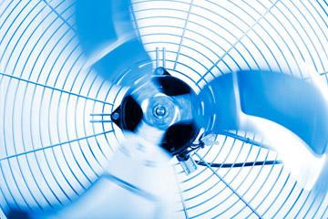 heatpump fan