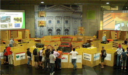 RoboCupRescue - World Championship and Symposium, Graz, Austria 2009