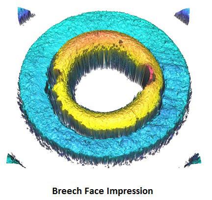 3D breech face impression