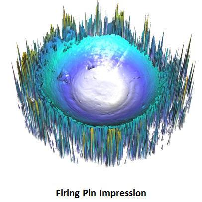 3D firing pin impression